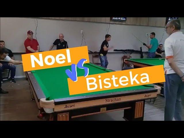 Noel vs Bisteka - 1° Open Quatro Estações em Fortaleza. Regra Brasileira de sinuca