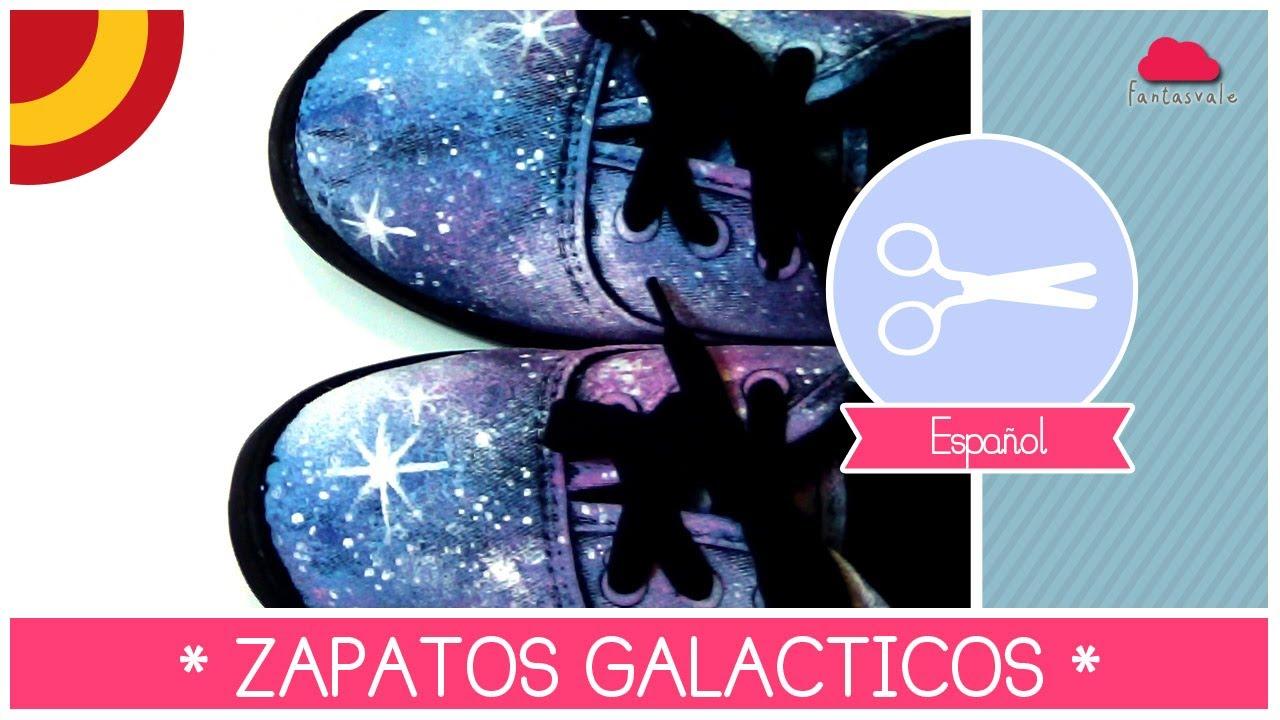 Zapatos galaxia como decorar tus zapatos con efecto - Decorar pared con tela ...