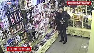 Укравший фаллоимитатор в секс-шопе на Садовой попал на видео