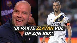 Heerlijke anekdote Van der Meijde: 'Ik pakte Zlatan vol op de bek' - VTBL