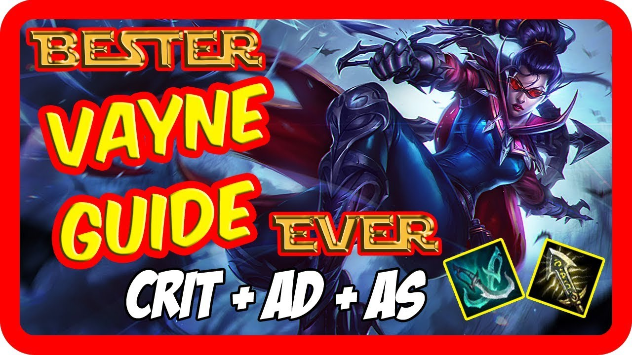 vayne guide build bot