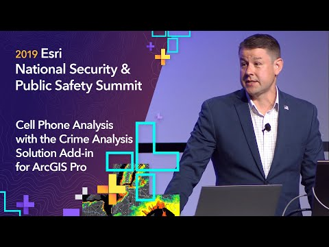 Cell Phone Analysis With The Crime Analysis Solution Add-in For ArcGIS Pro