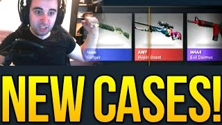 CS GO Falchion Case Opening! Operation Bloodhound! Hunting The AWP Hyperbeast