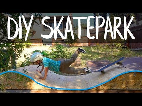 Epic DIY Backyard Skatepark. - Vlog #107