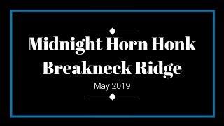 More 5-Chime Train Horns! Midnight Horn Honk @ Breakneck Ridge