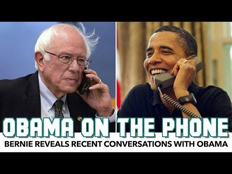 Bernie Reveals Recent Conversations With Obama