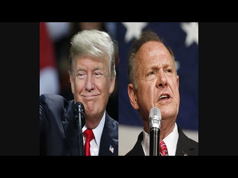 President Trump Records Robocall For Roy Moore