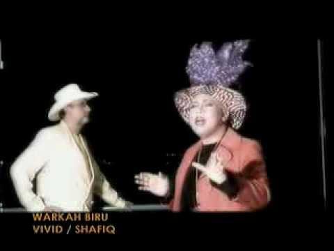 VIVID SHAFIQ MTV ASIA (OFFICIAL MUSIC TV VIDEO) - WARKAH BIRU