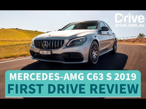 Mercedes-AMG C63 S 2019 First Drive Review | Drive.com.au