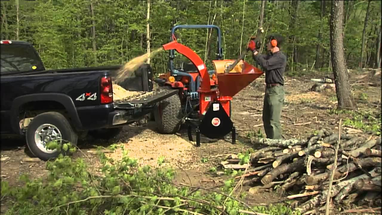 Dr Pto Wood Log Chipper Chipper Reviews Part 2 Youtube