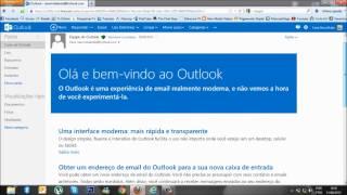 Atualizando Hotmail.com Para Outlook.com