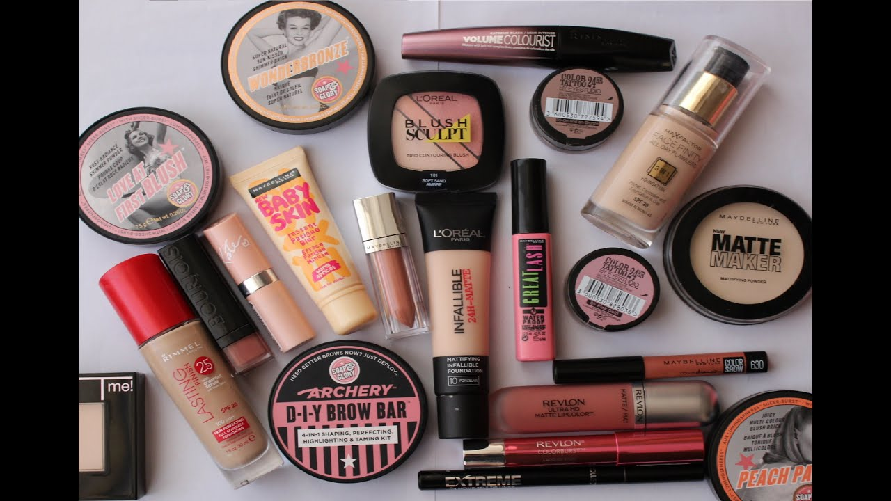 Good drugstore makeup