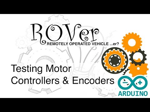 D19: ROVer Robot: Arduino & RoboClaw Motor Controller Communication... they like to talk!