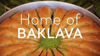 Turkey: Home of BAKLAVA