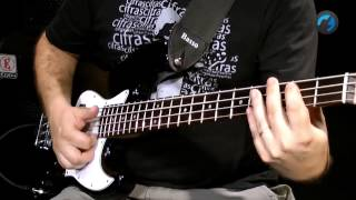 Como Fazer Slap no Baixo - Iniciante (como tocar contra-baixo)