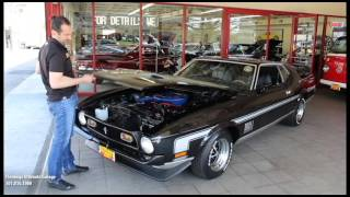 1971 FORD MUSTANG FASTBACK for sale with test drive, driving sounds, and walk through video