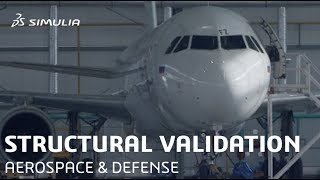 Sub-System Level Structural Validation | SIMULIA | Aerospace & Defense | Overview