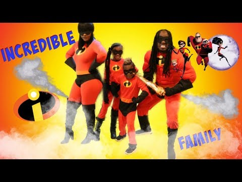 The INCREDIBLES Family In Real Life!
