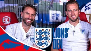 Kane: We Want to Finish World Cup on a High | Lions' Den Ep Thirty One | World Cup 2018