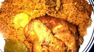 How to make Jollof Rice(Ghana)