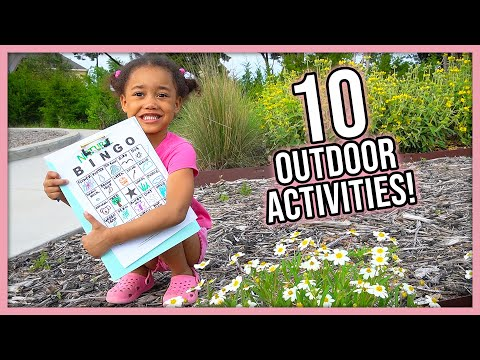 10 Easy Outdoor Activities to Keep Kids Entertained during Quarantine