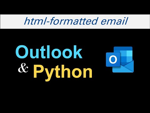 How To Send HTML Formatted Email In Outlook With Python