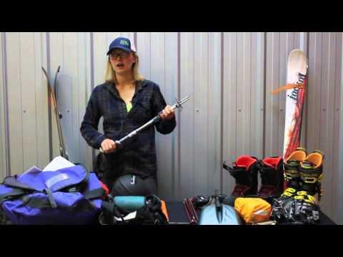 Ski Mountaineering Equipment Video