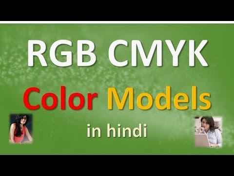 RGB CMYK Color Models in HINDI