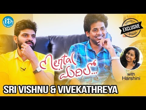 Actor Sri Vishnu & Director Vivek Athreya Exclusive Interview || Talking Movies With iDream