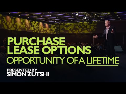 PURCHASE LEASE OPTION | OPPORTUNITY OF A LIFETIME? | 2018
