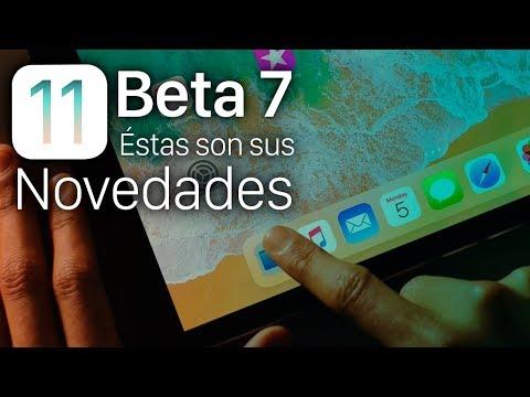 iOS 11 beta 7, estas son sus novedades y secretos ocultos