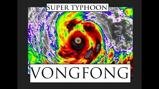 """10/08/2014 -- Super Typhoon """"VONGFONG"""" Heading towards Japan -- Now @ Category 5"""