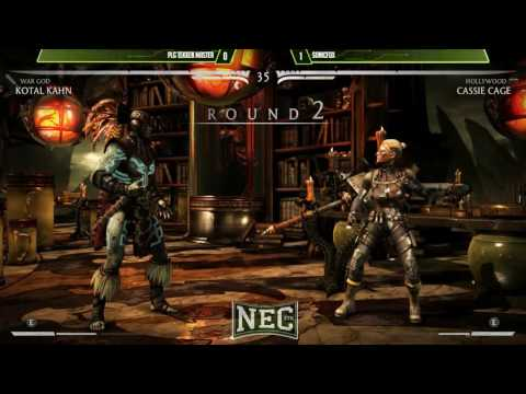 NEC XVII: MKXL: PLG   Tekken Master vs SonicFox