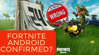 Fortnite Android Confirmed Date? Leaked By Tencent Games! Fortnite Android Released??