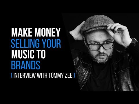 Make Money Selling Your Music To Brands (Interview with Tommy Zee) – RecordingRevolution.com