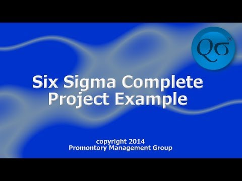 case study of six sigma project A case study in software enhancements as six sigma process improvements: paper presents such a case study, the configurator roi project six sigma projects.