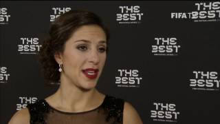 CARLI LLOYD - Post Award Reaction - THE BEST FIFA FOOTBALL AWARDS 2016