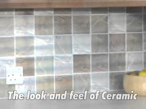 stick and go tiles - amazing self adhesive wall tiles - youtube