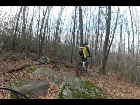 Mountain Biking, Huntington State Park, Redding, CT