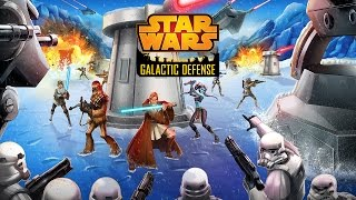 Official Star Wars™: Galactic Defense (by DeNA Corp.) Launch Trailer (iOS / Android)