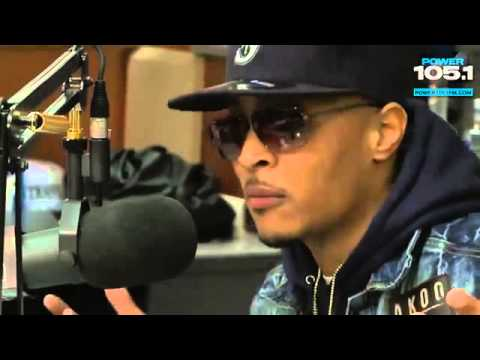 Interview With T.I. [Trouble Man] At The Breakfast Club Power 105.1