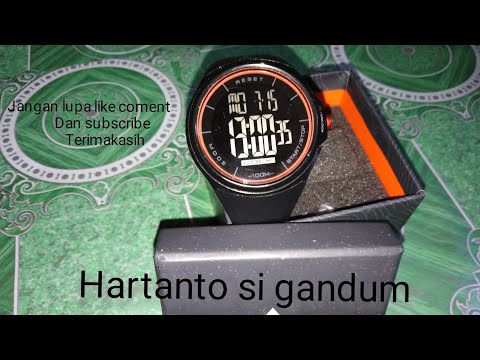 REVIEW JAM TANGAN EIGER TOUCHSCREEN  IYW0082 ||BLACK ANTI AIR||