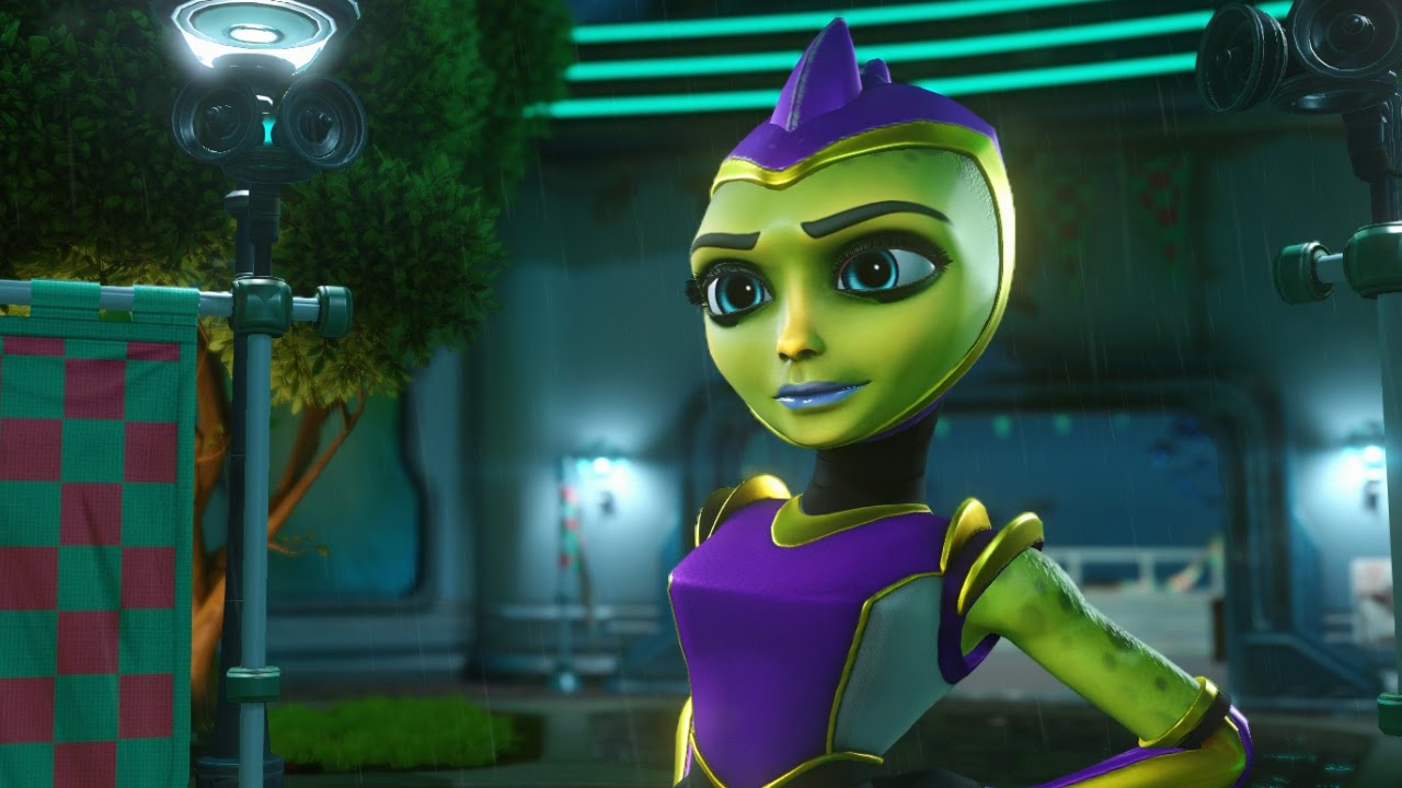 Lets Play Ratchet And Clank Travel To The Hoverboard Event