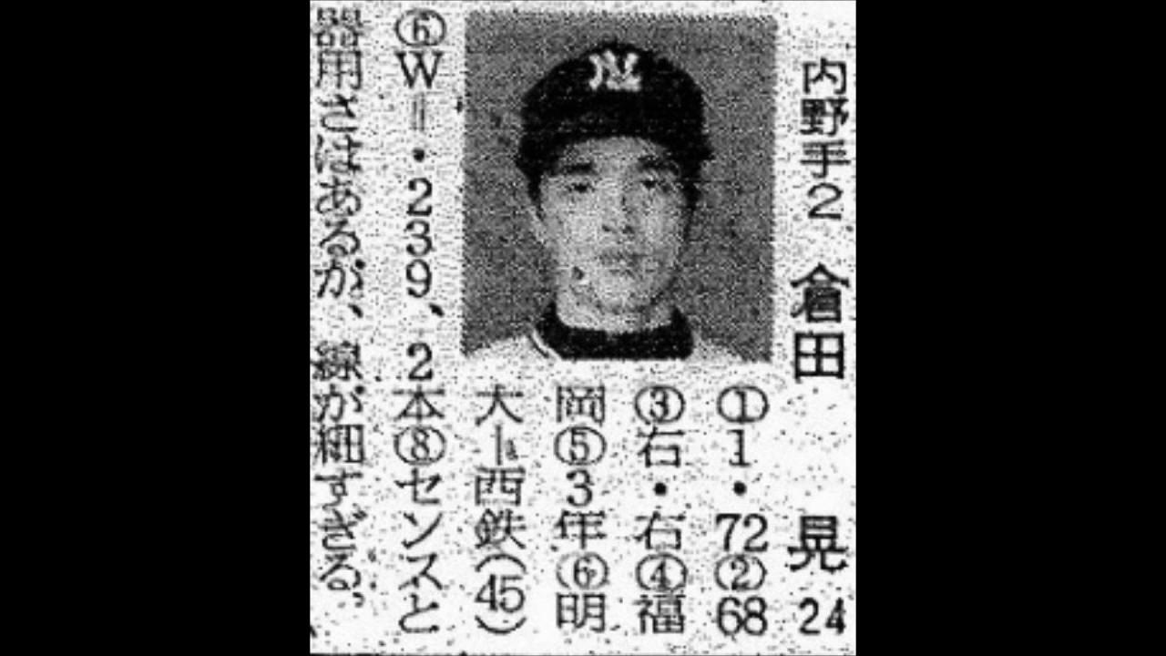 1972年 西鉄ライオンズ 選手名鑑...