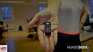 Zanco Tiny t1: el teléfono más pequeño del mundo | ¡Llega la Navidad a GTA Online! #MundoGeek