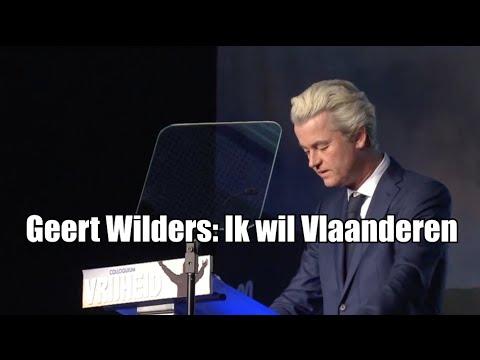 Geert Wilders: Ik wil Vlaanderen erbij!