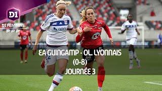 J3 : EA Guingamp - Ol. Lyonnais (0-8), le résumé