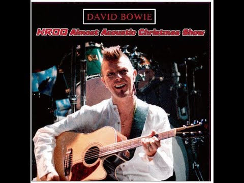 David Bowie Almost Acoustic Christmas '97 VTS 01 1