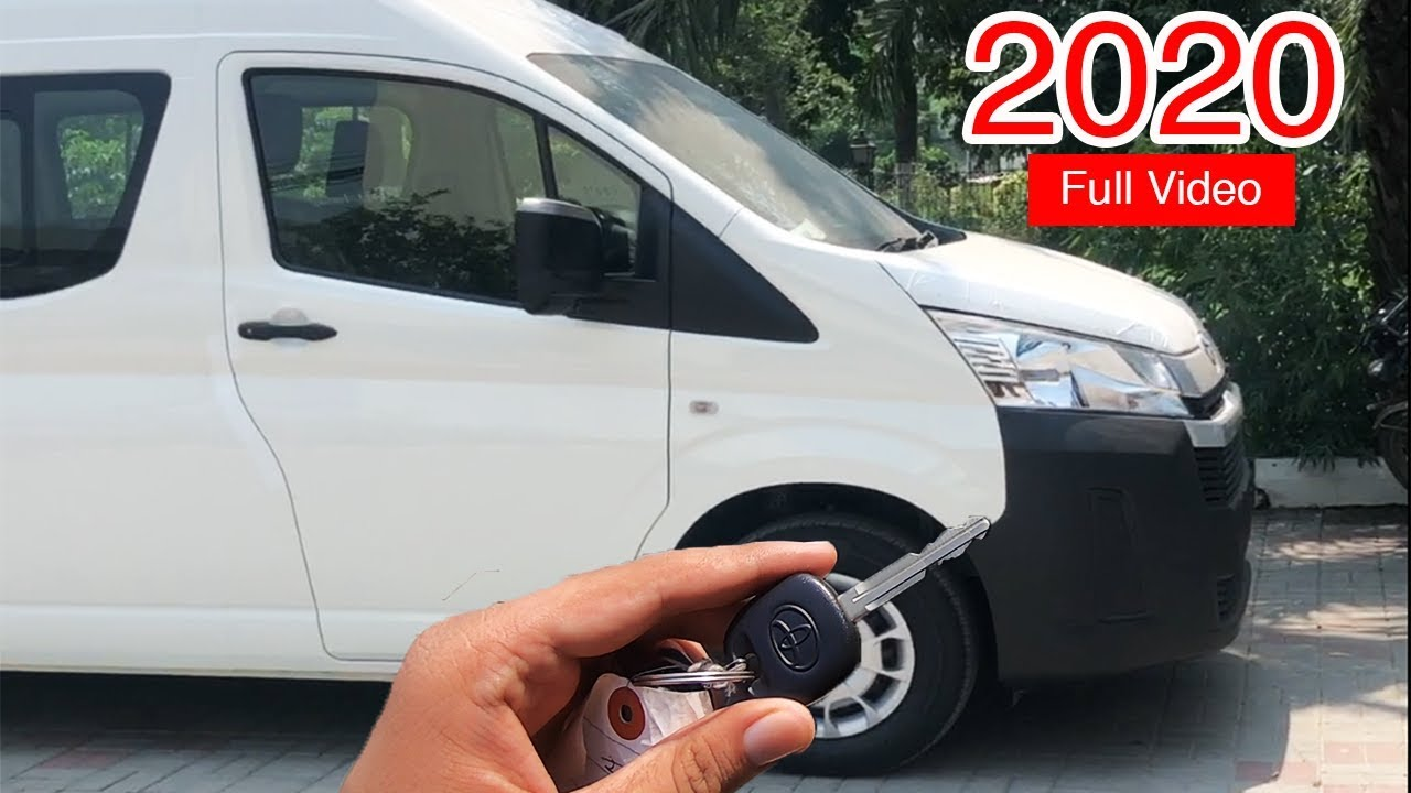 😍New Toyota Hiace 2020 Deluxe Detailed Video | Toyota Hiace Deluxe Hi-Roof  Price in Pakistan