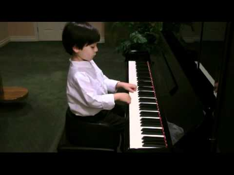 Suzuki School of Music - Evan's Piano Book 1 Graduation